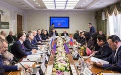 Парламентарии России иМонголии высказались заактивизацию межпарламентских имежрегиональных связей