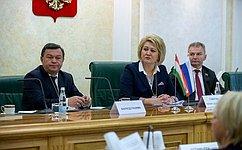 Социальное игуманитарное сотрудничество России иТаджикистана обсудили вСовете Федерации