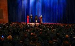 В.Матвиенко посетила Государственный академический русский драматический театр Республики Узбекистан