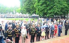 В. Куликов вСевастополе принял участие впараде вчесть 75-летия Победы вВеликой Отечественной войне