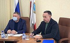 О. Алексеев: Перед аграриями Саратовской области вэтом году поставлена задача собрать шесть миллионов тонн зерна