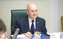 Сенаторы рассмотрели вопрос оразвитии АПК иобеспечении рационального природопользования вСеверной Осетии— Алании