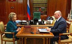 Необходимо сбалансировано развивать санаторно-курортную базу Северо-Кавказского федерального округа— В.Матвиенко