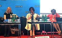 ВРоссии реализуются государственные программы, направленные наулучшение положения женщин вобществе– Е.Лахова