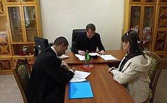 В.Харламов обсудил вопросы благоустройства Гулькевичкого района Краснодарского края