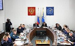 ВТуве состоялось выездное заседание Комитета Совета Федерации пообороне ибезопасности