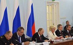 Сенаторы приняли участие впраздничных мероприятиях наПрохоровском поле