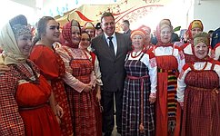 В. Павленко принял участие воткрытии Маргаритинской ярмарки