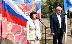 Нужно расширять практику проведения школьных спортивных фестивалей сучастием детей-инвалидов— Е.Попова