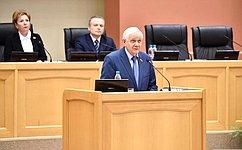 Валерий Марков поздравил Государственный Совет Республики Коми с25-летием