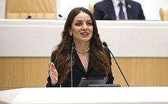 З. Догузова назаседании Совета Федерации рассказала оразвитии внутреннего туризма вРоссии