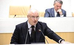 А. Клишас выступил сотчетами оработе полномочного представителя СФ вКонституционном Суде РФ иГенеральной прокуратуре РФ