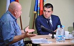 С. Мамедов провел прием граждан вСамарской области