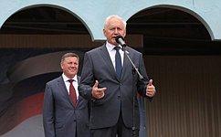 Н. Тихомиров принял участие впраздничных мероприятиях, посвященных 1155-летию города Белозерска Вологодской области