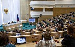 Председатель Совета Федерации В.Матвиенко провела встречу стружениками социальной сферы села