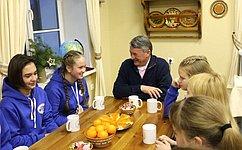 Ю. Воробьев направил поздравление представителям юного поколения сДнем защиты детей