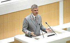 Глава РЖД О. Белозеров рассказал назаседании СФ обактуальных вопросах стратегии развития железнодорожного транспорта