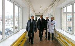 Н.Тихомиров побывал срабочей поездкой вСямженском муниципальном районе Вологодской области