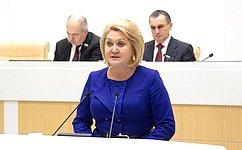 Л. Гумерова представила Отчет оработе Комитета СФ понауке, образованию икультуре за2019год