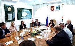 В. Джабаров входе поездки вЕАО обсудил вруководством региона вопросы социально-экономического развития автономии