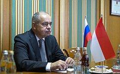 И.Умаханов: Отношения между Россией иИндонезией имеют хорошие перспективы