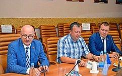 О. Цепкин входе работы врегионе посетил город Трехгорный Челябинской области