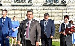 Количество учащихся вшколах Республики Алтай растет скаждым годом– В.Полетаев