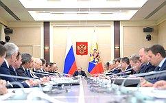 В.Матвиенко приняла участие взаседании Совета при Президенте РФ постратегическому развитию иприоритетным проектам