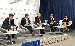 Делегация СФ участвует вПарламентском форуме иВстрече председателей парламентов государств «Группы двадцати» вБуэнос-Айресе