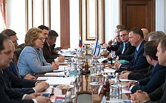 Председатель Совета Федерации провела встречу сПредседателем Кнессета Израиля