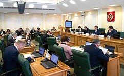Комитет СФ побюджету ифинансовым рынкам поддержал закон, совершенствующий межбюджетные отношения