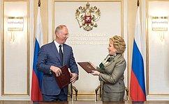 Важно планомерно развивать потенциал всех регионов России— В.Матвиенко