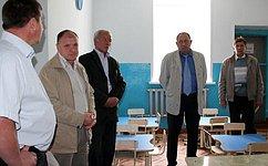 И. Чернышев посетил Бакчарский район Томской области