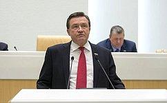 С. Рябухин представил отчет оработе Комитета СФ побюджету ифинансовым рынкам за2017год