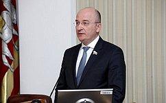 О.Цепкин выступил вЗаконодательном Собрании Челябинской области сотчетом оработе за2018год