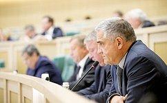 Входе «парламентской разминки» сенаторы затронули ситуацию наЮго-Востоке Украины, вопросы экономики ифинансов