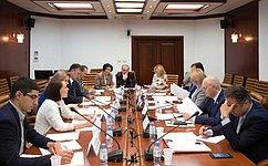 М. Щетинин провел совещание поподготовке форума, посвященного вопросам социального развития села