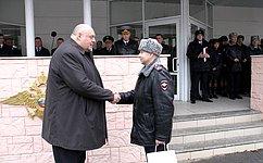 Сергей Аренин поздравил саратовских полицейских спрофессиональным праздником