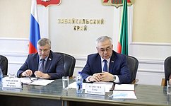 Б.Жамсуев иС.Михайлов провели совещание оборганизации летней оздоровительной кампании вЗабайкалье