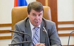 С. Цеков: Исполнительная изаконодательная ветви власти должны сотрудничать вделе решения социальных вопросов