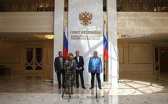 ВСовете Федерации проходит выставка, посвященная Дню памяти искорби