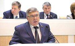 В.Рязанский: Все финансовые обязательства всоциальной сфере перед гражданами впрошлом году были выполнены