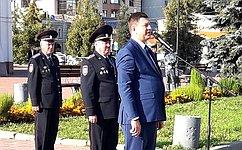 В. Смирнов: Воспитание историей помогает формированию офицерского характера