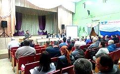В. Тимченко: Районные совещания– это серьёзная методическая помощь ввопросах осуществления местного самоуправления