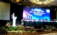 Приоритеты АСЕАН всфере передовых технологий вгосуправлении совпадают сзадачами, стоящими перед Россией— С.Жиряков