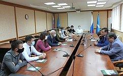 С. Рябухин посетил Ульяновский государственный технический университет