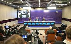 Входе телемоста Москва-Брюссель К.Косачев пригласил европейских парламентариев вместе посетить Сирию