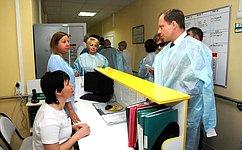 Временная комиссия СФ повопросам подготовки ипроведения ЧМ пофутболу-2018 оценила подготовку объектов здравоохранения Волгограда