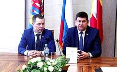 В.Смирнов встретился спредставителями молодежной администрации Фурмановского района Ивановской области