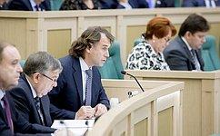 Вопросы подготовки квалифицированных кадров для российских предприятий обсудили сенаторы входе «парламентской разминки»